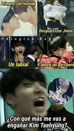 Read 32 from the story Memes rikolinos de BTS by Jax_parrow (Dou) with 31 reads. Memes Bts Español, Vkook Memes, Kid Memes, Funny Memes, Bts Taehyung, Bts Bangtan Boy, Bts Jimin, K Pop, Foto Bts