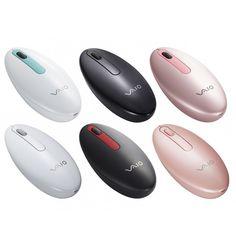 Sony Mysz VAIO - VGP-BMS21 - Stylowa mysz Bluetooth® oparta na technologii laserowej idostępna w6 kolorach.    http://www.sony.pl/product/myszy-klawiatury-vaio/vgpbms21-w.ce