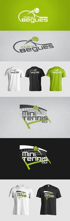 Begues tennis club on Behance