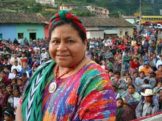 Won the Nobel Peace prize in 1992, fought to bring awareness of the genocide in Guatemala, and helped Guatemalans (especially indigenous Mayans) to defend themselves. Was appointed Goodwill Ambassador of UNESCO and founded the Rigoberta Menchú Tum foundation which helped bring exiled Guatemalans back. :  Rigoberta Menchú Tum