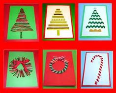 Learning Ideas - Grades K-8: 6 Easy, Fun, Homemade Christmas Cards