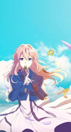 Violet Evergarden Gilbert, Manga Art, Anime Art, Violet Evergarden Wallpaper, Violet Evergreen, Violet Evergarden Anime, Kyoto Animation, Japon Illustration, Kawaii Anime Girl