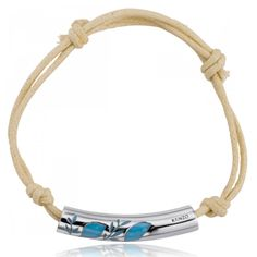 Bracelet acier Kenzo Tatoo - Kenzo Kenzo, Bracelets, Tatoos, Jewelry, Blue Patterns, Beige Colour, Man Bracelet, Male Jewelry, Surfboard Wax