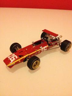 Ferrari 312 F1 Francia GP 1968