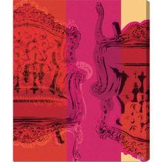Image of ' Viceversa' Canvas Art