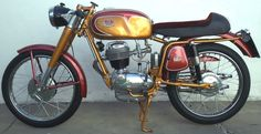 Moto FB Mondial Sprint 175. Restaurada totalmente.  http://www.arcar.org/motosantiguas.aspx?qmo=175