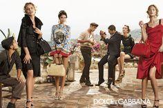 La campagne publicitaire Dolce & Gabbana printemps-été 2014