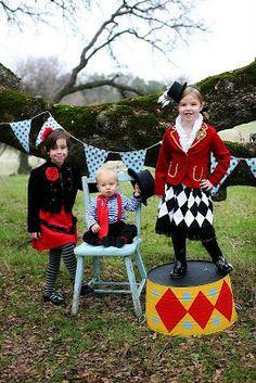 Cute circus costume ideas