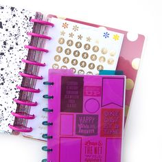 DIY Happy Planner™ Sticker Book by mambi Design Team member Jennie McGarvey | me & my BIG ideas