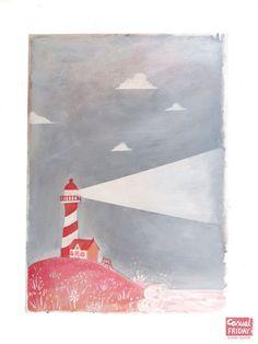 Anne Jasmijn #Lighthouse #Shore