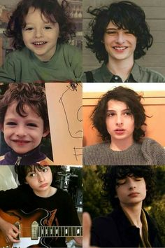 Finn Wolfhard:An evolution