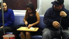 26 Things You'll See On Public Transportation...gross and yet you can't look away