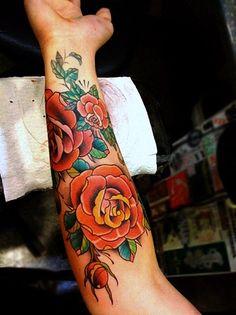 Flower Tattoo Gallery Part 5 #tattoo #flower