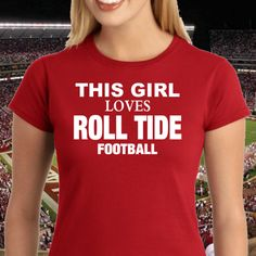 **JUST IN TIME FOR ROLL TIDE FOOTBALL** Get yours here >> http://teedaily.net/rt01