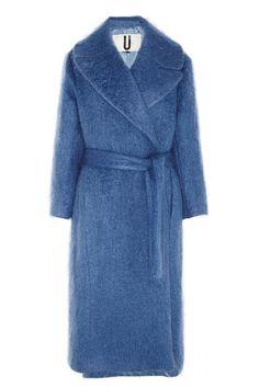 Topshop Unique Oversized Mohair-Blend Blanket Coat, $700; net-a-porter.com Courtesy of Retailers - ELLE.com