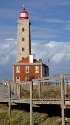 Sao Pedro De Moel Lighthouse, Leiria, Portugal