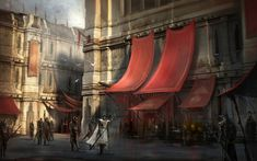Hightown from Dragon Age II