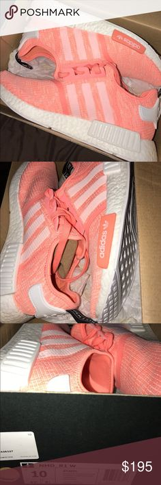 Adidas NMD R1 - sun glow/haze New in box. Original item. Purchased at Footlocker a few days ago. This is a limited color way on the NMD shoe! Adidas Shoes Athletic Shoes
