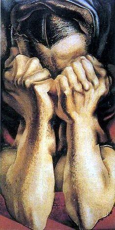 Sigueiros, David Alfaro (1896-1974) - 1939 The Sob (Museum of Modern Art, New York City) by RasMarley, via Flickr