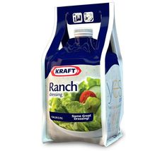 Cool ranch packaging by Kraft! You can use 99% of the product inside!.. yes please