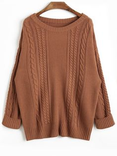 Up to 70% OFF! Drop Shoulder Plain Cable Knit Sweater. Zaful,tops,outfits,sweaters&cardigans,sweaters,cardigans,choker sweater,chokers,chunky sweater, oversized sweaters,knit sweater,knitwear,off the shoulder sweater,sweater outfits,long cardigan, cardigan, cardigan outfit,turtleneck sweaters,cashmere sweater,cashmere jumpers,women fashion,winter outfits,winter fashion,fall outfits,fall fashion, halloween costumes,halloween,halloween outfits,halloween tops. @zaful Extra 10% OFF Code:ZF2017
