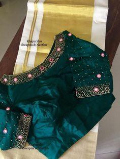 Kerala Saree Blouse Designs, Cutwork Blouse Designs, Best Blouse Designs, Simple Blouse Designs, Stylish Blouse Design, Blouse Neck Designs, Mirror Work Blouse Design, Designer Blouse Patterns, Couture