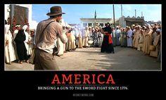 #America #2A #GunFight #KnifeFIght