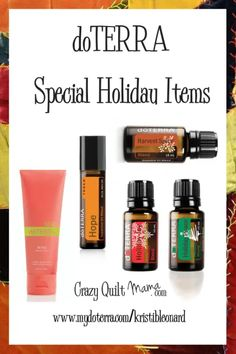 doTERRA 2019 Holiday Gift Catalog - Crazy Quilt Mama