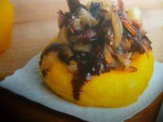 polenta pasticciata - con radicchio e schiz