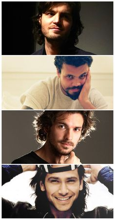 <3 Tom, Howard, Santiago & Luca <3