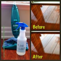 All Natural Homemade Floor Cleaner DIY Tutorial | Lots of good tips..Please Repin