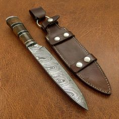 Damascus Steel Kitchen Knives, Damascus Chef Knives, Chef Knife, Horns, Gifts For Her, Etsy Shop, Unique Jewelry, Handmade Gifts, Chefs