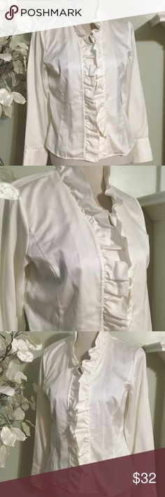 TALBOTS ELEGANT BLOUSE Precious blouse , 100% fine silky cotton , excellent condition Talbots Tops Blouses
