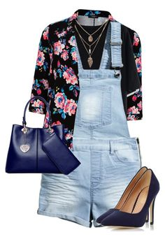 """Untitled #1150"" by littledeath11 ❤ liked on Polyvore featuring Chicwish, H&M and Dorothy Perkins"