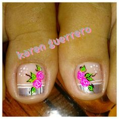 Pretty Designs, Pretty Nails, Gorgeous Nails, Toenails, Fairy, Dress, Simple Toe Nails, Toe Nail Art, Fingernails Painted