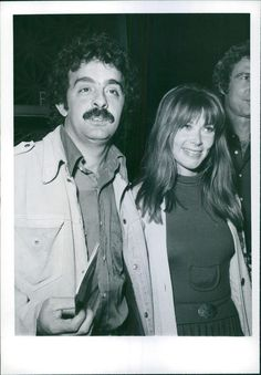 Vintage photo of Lee Grant and Joe Furie were guests at the invitational screeni