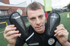 St Mirren star Paul McGowan gives the new Rikoset shin guards a test drive
