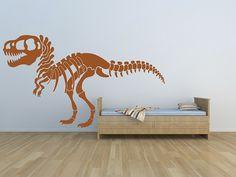 T-Rex skeleton vinyl decal, NZD$103.50
