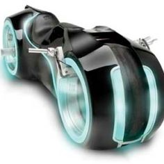 This Tron style motorcycle is a fully functional and street legal bike that is powered by a Suzuki 996cc engine. While riding on the Tron motorcycle you lay in a flat position akin to the Tron movie. For only $55,000.00 you can tear up the streets Tron Style.