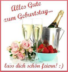 Alles Gute zum Geburtstag... lass dich schön feiern!