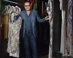 """""""My collections reference Italy in the What a beautiful time. Naeem Khan, Dress Cuts, Lady Gaga, Suit Jacket, Ruffle Blouse, Italy, Collections, Gowns, Fashion Designers"""