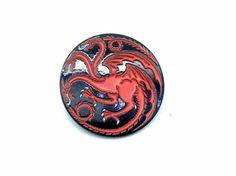 Game Of Thrones Targaryen Cosplay Metal Pin Badge