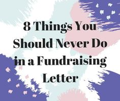 Ever wonder why your fundraising letter didn't get great results? Here's what you may have done wrong.