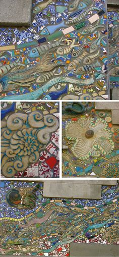 mosaic art. Make your own unique clay pieces to add to your mosaics.