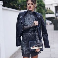 Street chic with Caroline Receveur. Street Chic, Street Style, Girl Fashion, Fashion Looks, Classy Chic, Elegant Outfit, Look Chic, Mode Style, Dress Codes