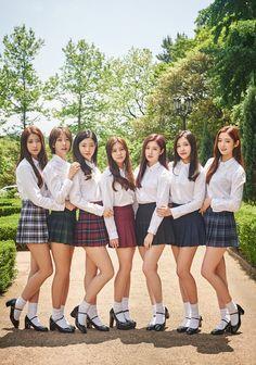 DIA Reveal Group Photos For Comeback! ~ Daily K Pop News