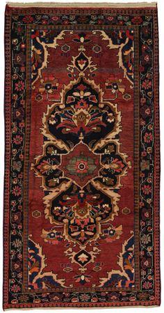 Jozan - Sarouk Persian Carpet 256x133