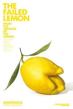 En toen schiep god ... de citroen met twee tenen. U koopt hem toch ook na het lezen van de knappe copy erbij?