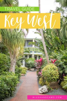 Today I'm sharing my Key West, Florida travel guide including where I stayed, where I ate, and recommendations for you if you ever travel to or are taking a trip in the area! #keywest #floridatravel #florida #traveldestinations #travelguides