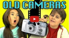 KIDS HILARIOUSLY REACTING TO AN OLD FILM CAMERA